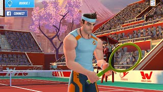 TENNIS CLASH 3D ONLINE SPORTS GAME - Gameplay Walkthrough Part 2 iOS / Android | Fun Sports Game