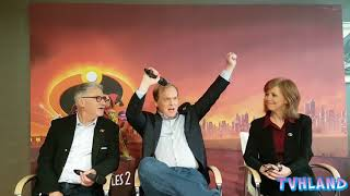 The incredibles 2: Interview with Brad Bird, John Walker and Nicole Paradis Grindle