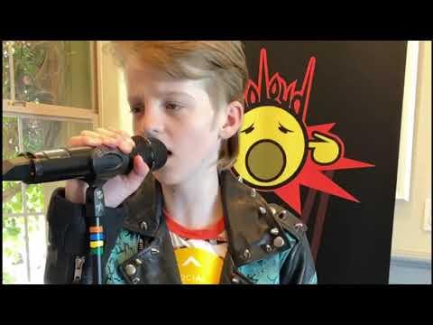 Kid sings Gun's N Roses Patience #gunsnroses #patience #gnr #axlrose