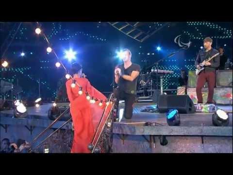 Coldplay   Rihanna - PRINCESS OF CHINA LIVE Paralympics London 2012 (HD)