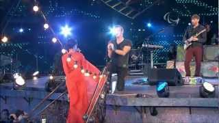 Coldplay   Rihanna - PRINCESS OF CHINA LIVE Paralympics London 2012 (HD)