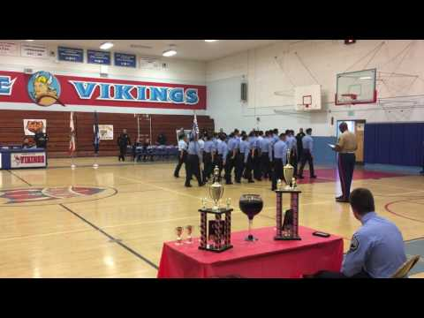 James Monroe high school Drill Competition 2017