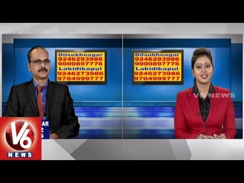 Career Point | Fire & Safety courses | Hyderabad Institute of Fire Engineering | V6 News