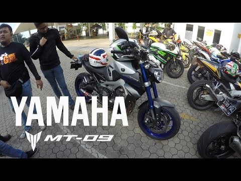 New Bike! / YAMAHA MT-09 Jakarta City Ride with BIGBIKELOVERS