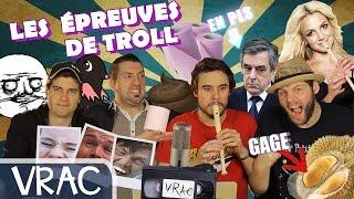 Epreuves de Troll : La REVANCHE de Taupe10 et DocSeven #29 [DÉFI BIZARRE]