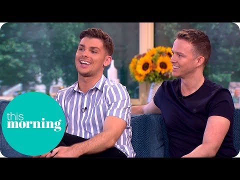 Hollyoaks Star Kieron and Husband Carl on Becoming Fathers to Surrogate Twins!  This Morning
