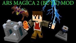 Minecraft Mod Tanıtımı-Ars Magica 2(Büyü) Modu 1.Bölüm (1.6.4) W/MertxonlinE