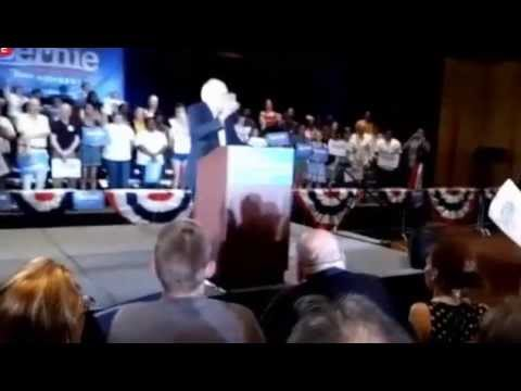 Bernie Sanders campaign rally Dallas TX (7/19/2015)