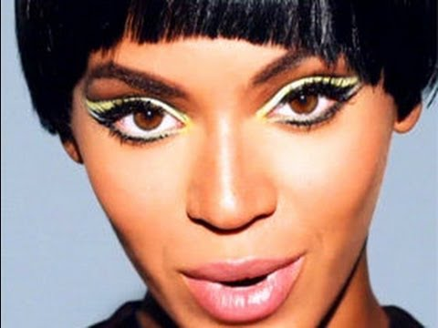 beyonce quotcountdownquot music video inspired makeup youtube