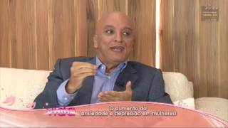 Clipping da Entrevista - Dr Cyro Masci fala sobre o aumento da ansiedade e depressao em mulheres