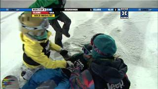 Winter X Games 15 - Kelly Clark victory lap with a 1080