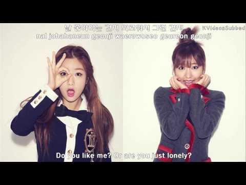 Apink BnN (Bomi&Namjoo) - My Darling (마이달링) [ENGSUB/Hangul/Romanized Lyrics]