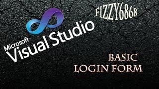vb.net Basic Login Form using visual express / studios 2013