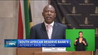 Kganyago keeps rates on hold (Full Speech)