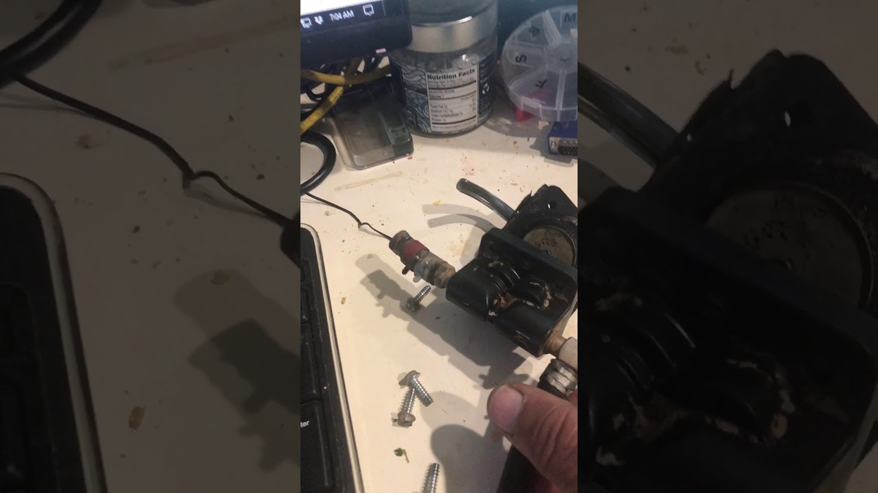 Kohler Mechanical Fuel Pump Repair Youtube Installing Engine Filter