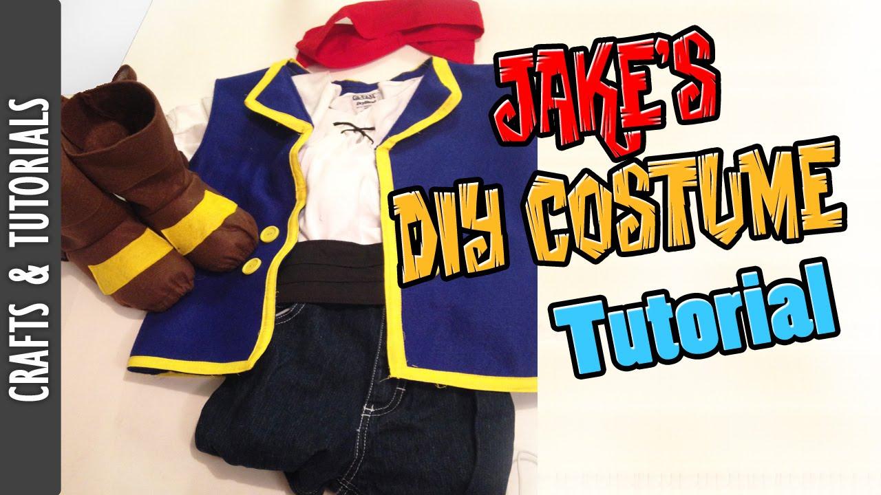 JAKES DIY COSTUME TUTORIAL HALLOWEEN The290ss