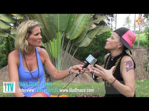 Yoga rebel and transformation  Dana Trixie Flynn, BALI