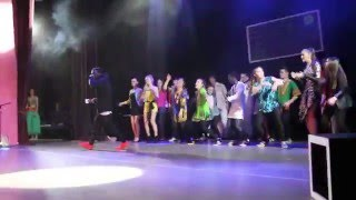 terry jay performs russian hustler at saratov state university spring concert in russia