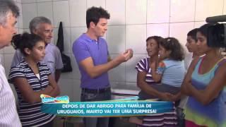 Baixar Hora do Faro - Família Uruguaia que vivia na rodoviária ganha abrigo.