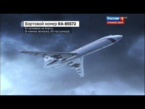 Как развивались события при крушении ТУ-154. Хронология событий