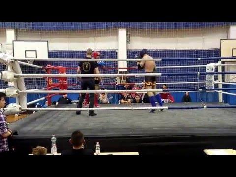 Amatőr Muaythai Magyar Bajnokság -78kg Döntő 2016.02.06.-Tóth Csaba vs. Sánta János