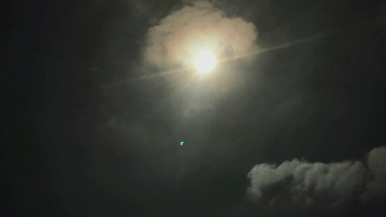 Eclipse 2017 time lapse no filter iPhone | Doovi