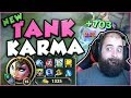 TANK KARMA JUST BECAME SO MUCH MORE BROKEN WITH NEW RUNES! NEW TANK KARMA TOP! - League of Legends