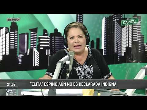 "Caso ""Elita"" Espino con la Dra. Rosario Sasieta"
