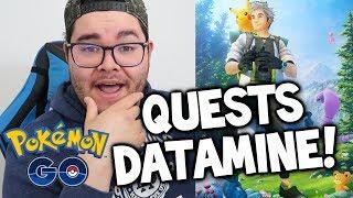 Pokémon GO Quests & MEW Datamine In-Depth Look! (NEW Pokémon GO
