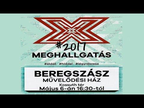 Az X faktor /RTL club,Budapest/, Beregszászban 2017.05.6.