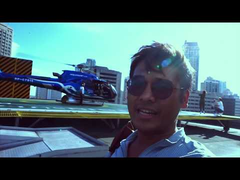 Helicopter Ride from NAIA to Makati City #35- Nognog in the City