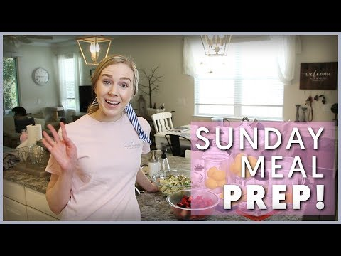 Sunday Meal Prep With Me!   PLUS: KitchenAid Juicer Product Review
