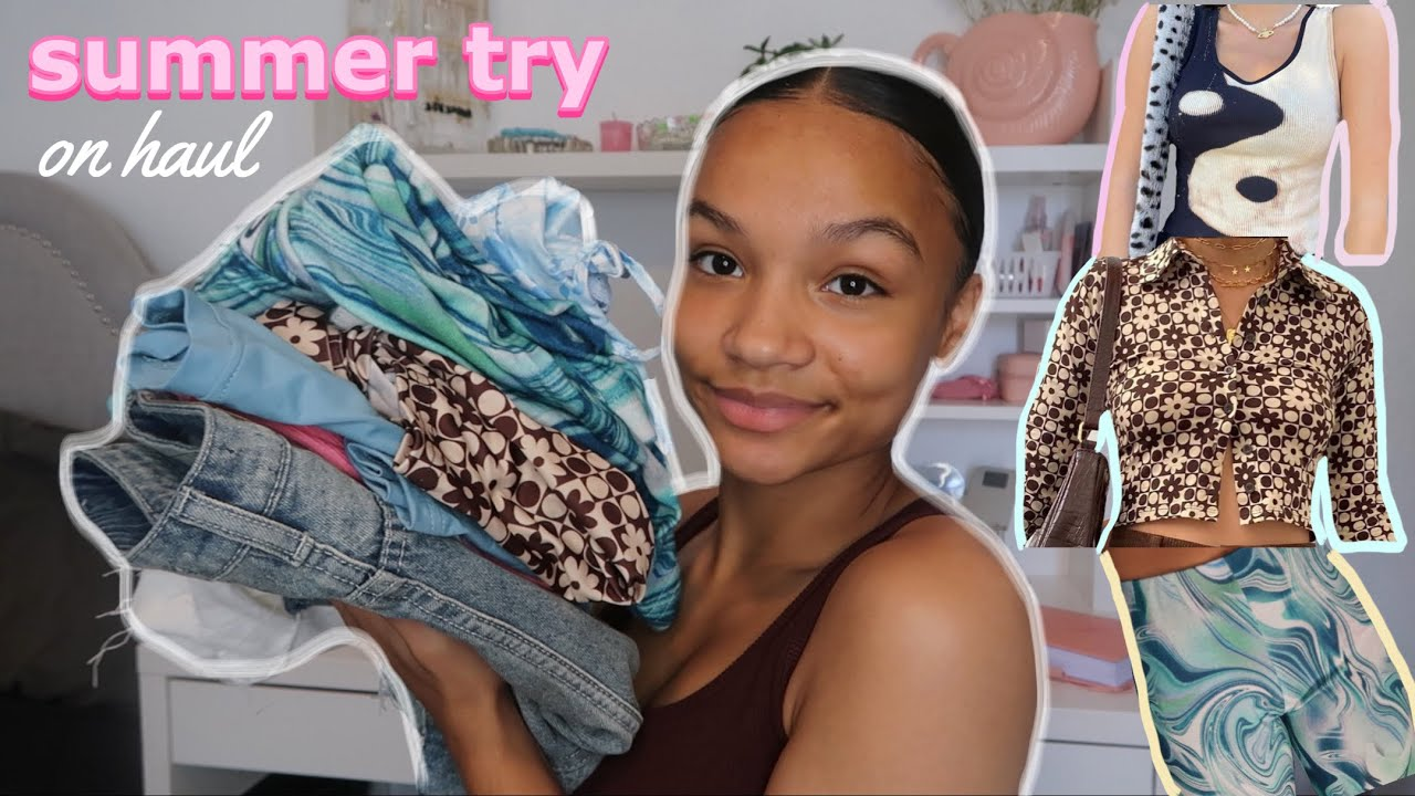 SUMMER TRENDY TRY ON CLOTHING HAUL || yesstyle !