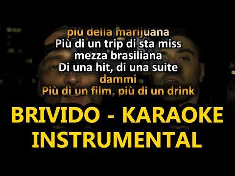 Guè Pequeno ft. Marracash: BRIVIDO (Karaoke - Instrumental)
