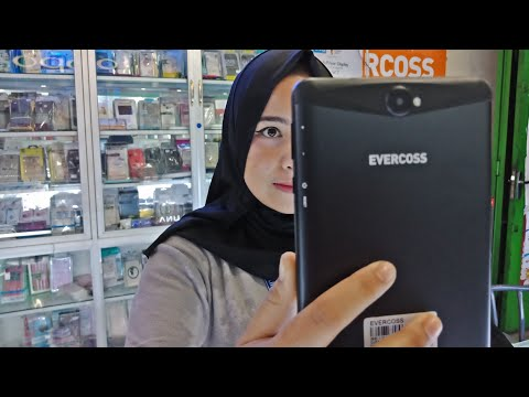 unboxing EVERCOSS TABLET WINNER S3MAX ( quality cheap price made in INDONESIA )