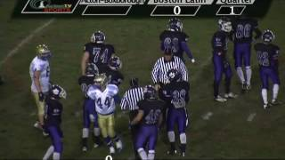 Colonials Football @ Boston Latin 10/12/12