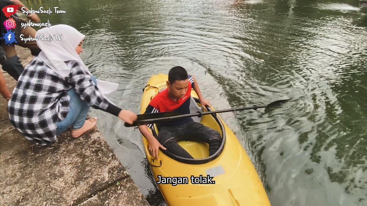 Asif Marah Syahmi Sebab Suruh Main Kayak