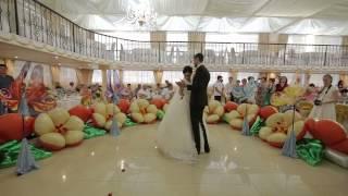 Оформление танца жениха и невесты.