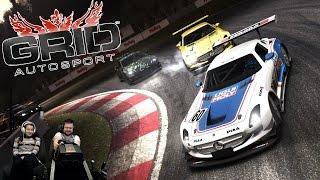 Горячие гонки с друзьями и подписчиками GRID Autosport на руле Fanatec ClubSport Formula Black