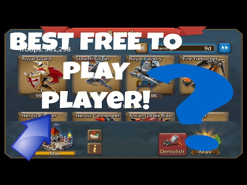 BEST FREE TO PLAY PLAYER? Lords Mobile F2P Search!