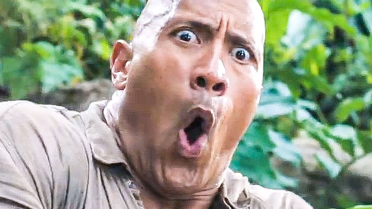 Jumanji 2 Trailer 2 2017 Dwayne Johnson