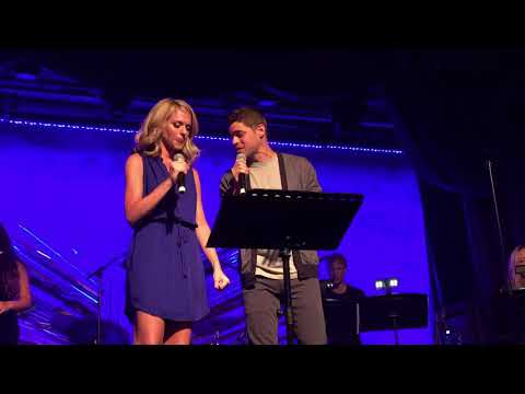 "Jeremy Jordan & Ashley Spencer @ Sony Hall ""You're All I Need to Get By"