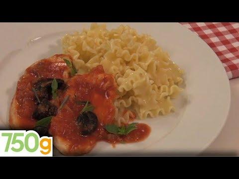 recette-d'escalope-de-dinde-à-l'italienne---750g