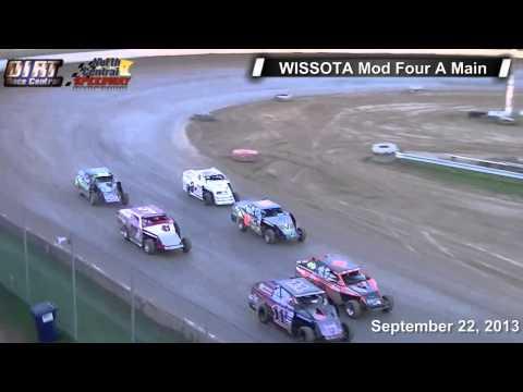 North Central Speedway 9 22 13 WISSOTA Mod Four Races