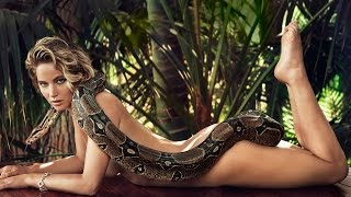 Jennifer Lawrence NUDE Photo With Snake For Vanity Fair