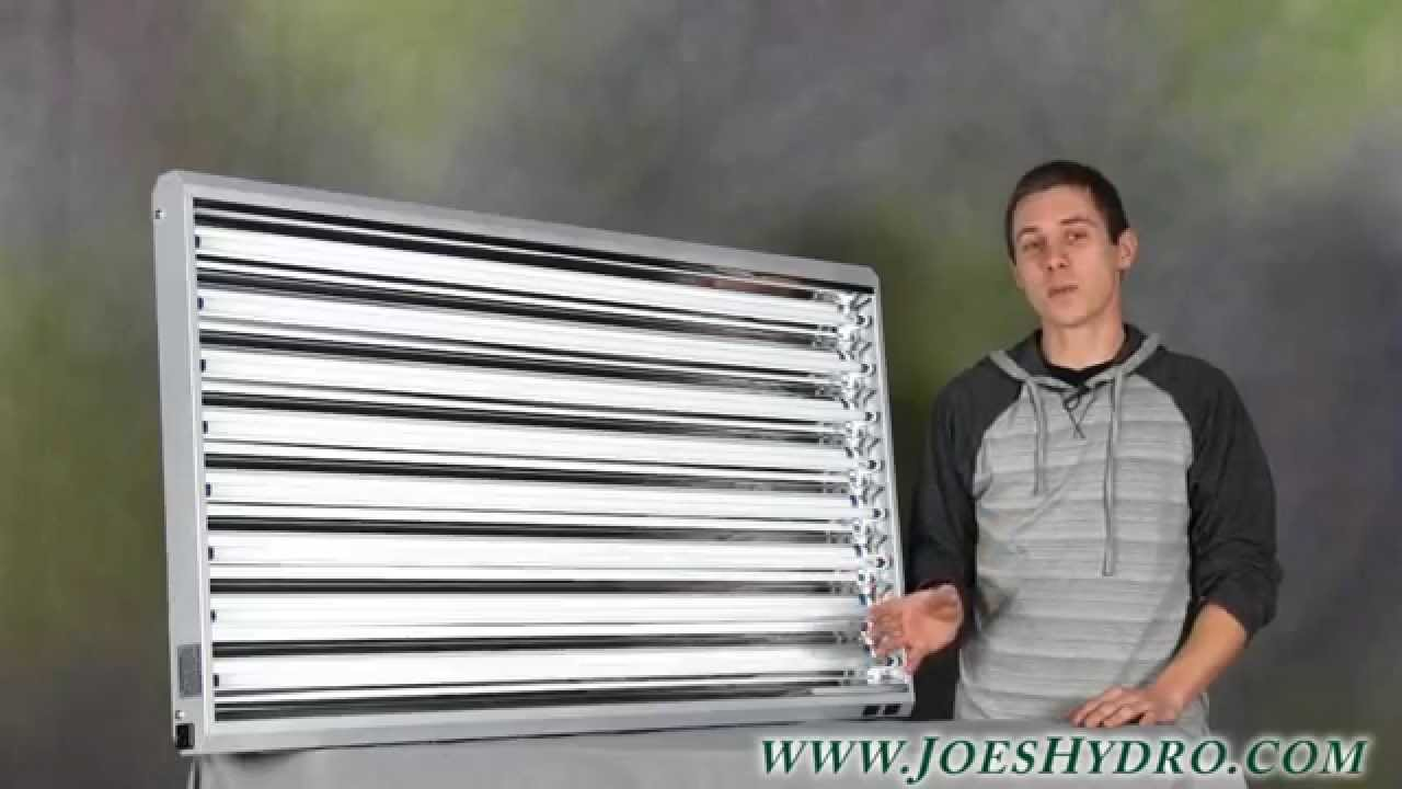 Pioneer 4ft X 8 Tube T5 Fixture W Grow Bulbs Out Of The Box Youtube Ballast Wiring Q Reef Tank