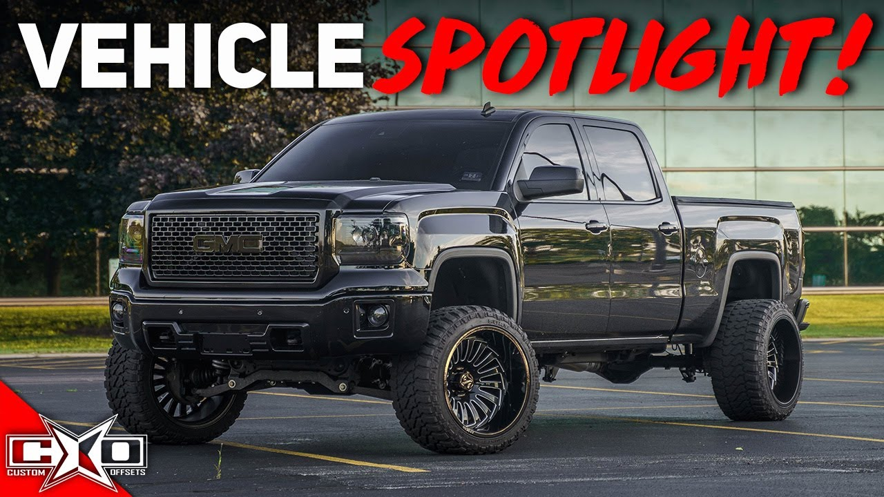 Murdered Out Denali On 14 Wides!