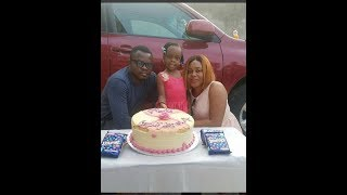 Sola Kosoko Her Dad Jide Kosoko amp Her Husband Step Out To Celebrate Her Daughter Birthday