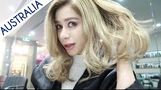 I WENT TO THE BEST JAPANESE HAIR SALON IN MELBOURNE!