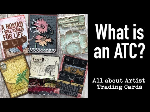 What is an ATC? (Artist Trading Card)
